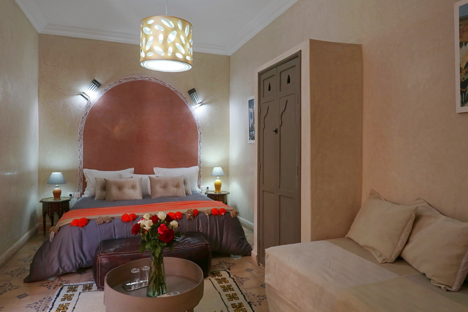 accommodation in riad